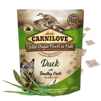 Carnilove Dog Pouch Paté Duck/Timothy Grass 300g