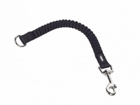 Koppel Nylon Soft Stop Belt 15mm/29cm Svart