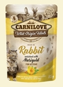 Carnilove Cat Pouch Rabbit/Marigold Kitten 85g