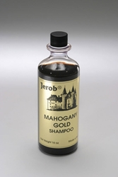 Jerob. Mahogany Gold Shampoo. 473 ml (16 oz)