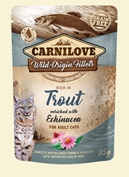 Carnilove Cat Pouch Trout/Echinacea 85g