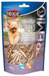 Premio Fish Rabbit Stripes 100g