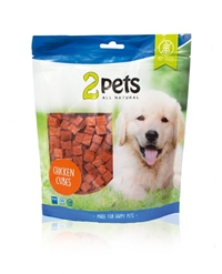 2Pets Dogsnacks Chicken Cubes 400g