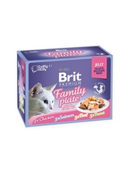 Brit Premium Pouches Fillets in Jelly 12*85g