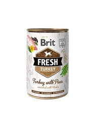 Brit Fresh Turkey w peas 400g
