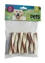 2pets Tuggtwister m ankfilé, Small, 80g